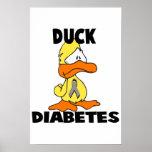 Duck Diabetes Print