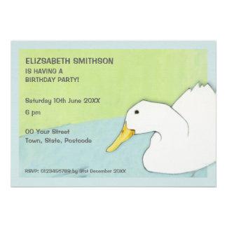 Duck Dip Birthday Party Invitation