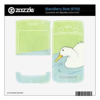 Duck Dip BlackBerry Bold (9700) Skin BlackBerry Skins