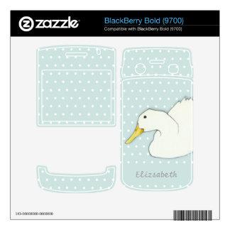 Duck Dip dots BlackBerry Bold (9700) Skin Decals For BlackBerry