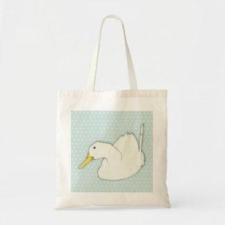 Duck Dip dots Tote Bag