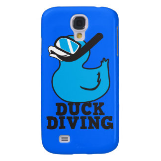 Duck Diving with rubber duckie mask Galaxy S4 Case