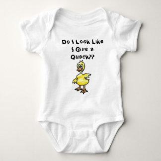 Duck - Do I Look Like I Give a Quack?? T-shirt