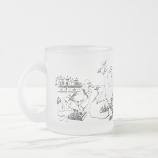 Duck Doctor Sees Patients Frosted Glass Coffee Mug