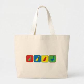Duck Duck Duck Goose Pop Art Tote Bag
