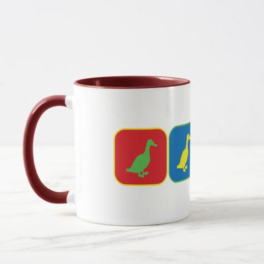 Duck Duck Duck Goose Pop Art Mug