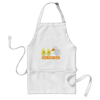 duck duck goose adult apron
