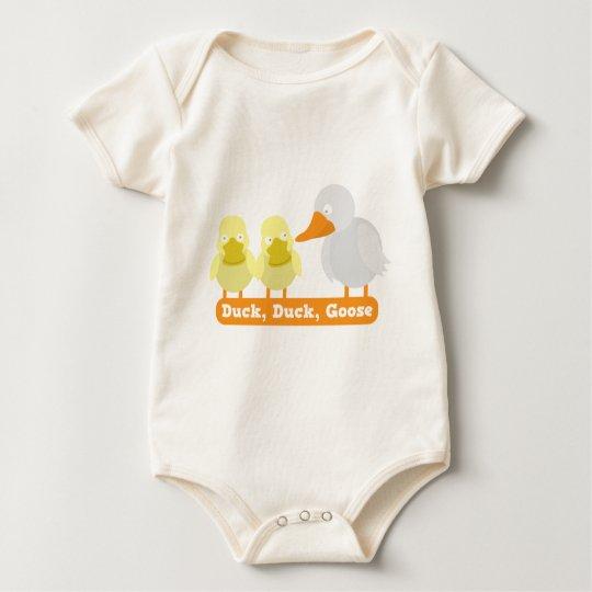 duck duck goose baby bodysuit
