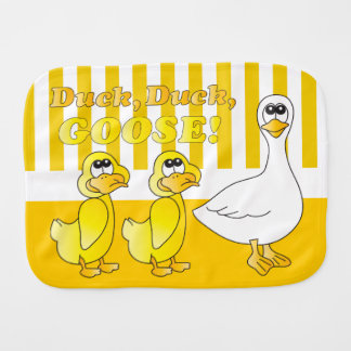 Duck, Duck, Goose - Baby Burp Cloth