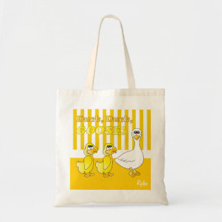 Duck, Duck, Goose Baby Nursery Theme Budget Tote Bag