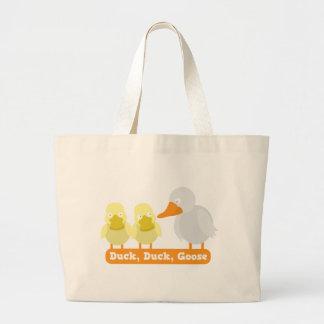 duck duck goose tote bags