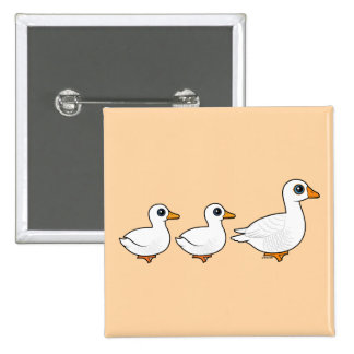 Duck Duck Goose Domestic Pinback Button