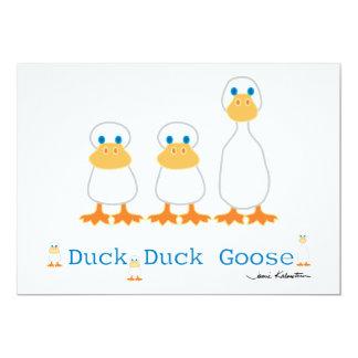 Duck Duck Goose Invitation