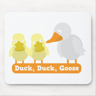 duck duck goose mouse pad