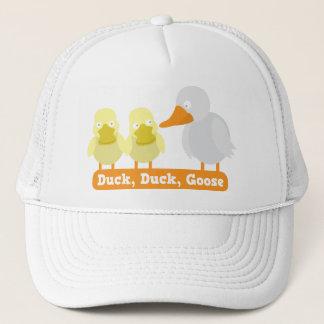 duck duck goose trucker hat