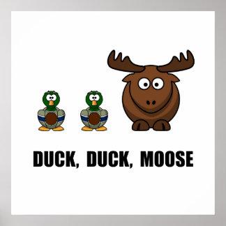 Duck Duck Moose Poster