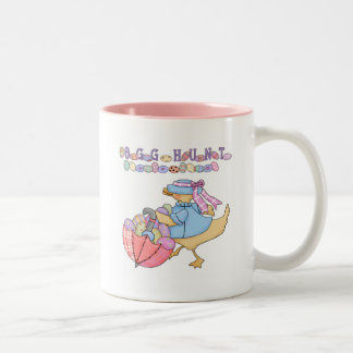 Duck Egg Hunt T-shirts and Gifts Two-Tone Coffee Mug