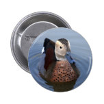 Duck el botón hermoso de la foto del pájaro anilla pin