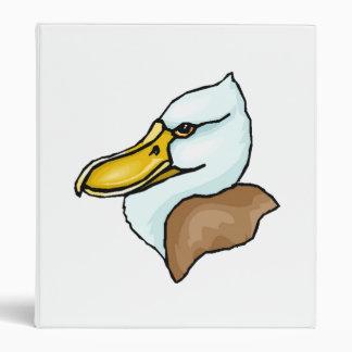 Duck Face Vinyl Binders