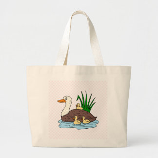 Duck Family Canvas Bags