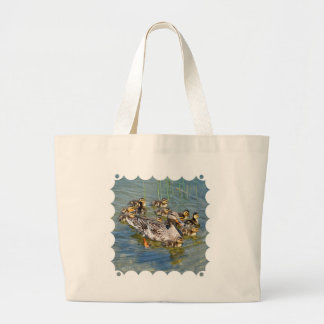 Duck Family Canvas Bag