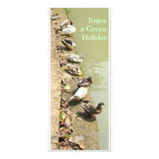 Duck Family Card