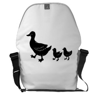 Duck Family Courier Bag
