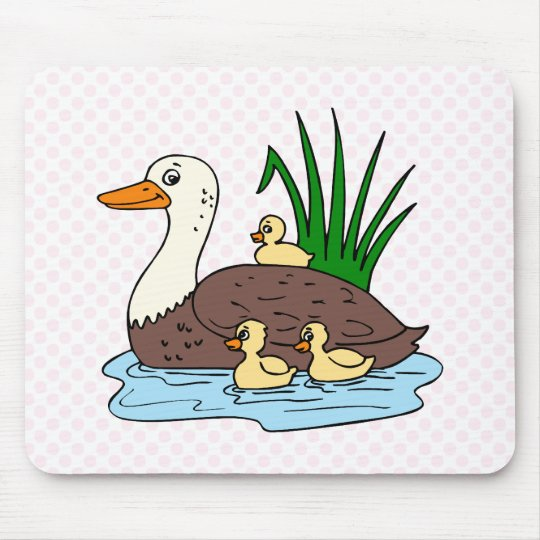 Duck Family Mouse Pad