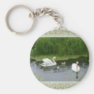 Duck Family Photo Keychain
