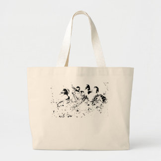 Duck Family  Purse Tote Bags