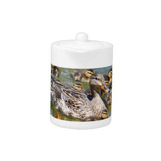 Duck Family Teapot