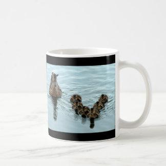 Duck Formation Classic White Coffee Mug