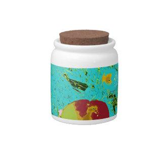 Duck Frog Fish Surreal Design Candy Jars