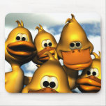 Duck Gathering Mousepad