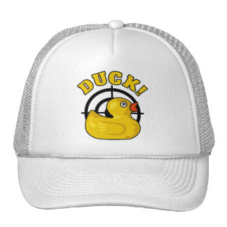 Duck! Trucker Hat