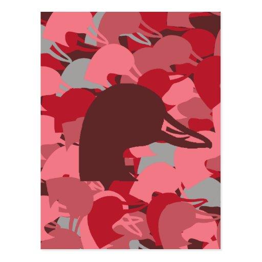 Duck Head rosado Camo Postal