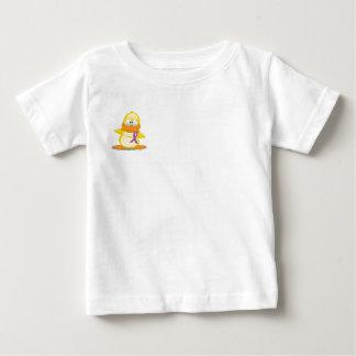 Duck Holding Crohn's Disease Ribbon Baby T-Shirt