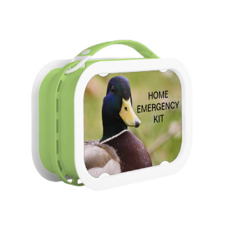 Duck Home Emergency Kit Lunch Box