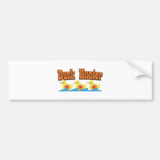 Duck Hunter Bumper Sticker