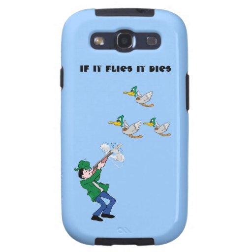 Duck Hunter Shooting Shotgun Galaxy SIII Case