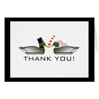 Duck Hunter Wedding-Thank You Stationery Note Card