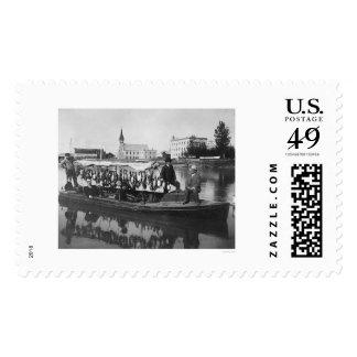 Duck Hunting Alaska Photo 1912 Stamps
