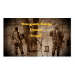 Duck Hunting Bond Double-Sided Standard Business Cards (Pack Of 100)