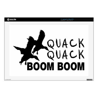 DUCK HUNTING DECALS FOR LAPTOPS