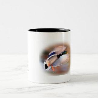 Duck Hunting drake mallard coffee cup Coffee Mug
