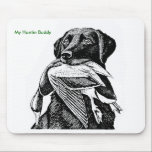 """Duck Hunting Labrador Mouse Pad<br><div class=""""desc"""">Keep your best friend close by while at work</div>"""