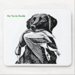 "Duck Hunting Labrador Mouse Pad<br><div class=""desc"">Keep your best friend close by while at work</div>"