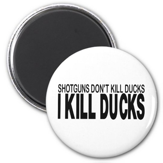 DUCK HUNTING MAGNET