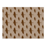 Duck Hunting pattern Postcards