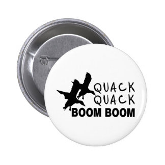 DUCK HUNTING PINBACK BUTTON